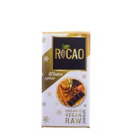 Rocao - Ciocolata Winter Spice Raw Bio 27g