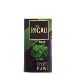 Rocao - Ciocolata cu Menta si Maca Raw Bio 27g