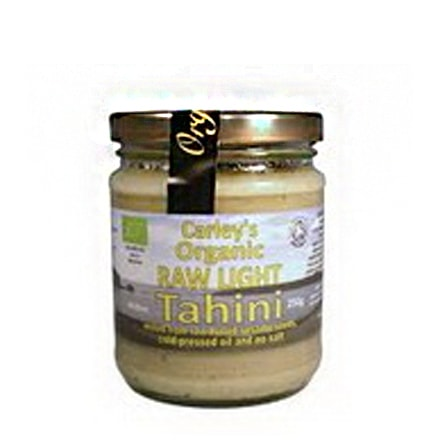 Carleys - Tahini Light Raw Bio 250g [001]