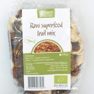 RAW SUPERFOOD TRAIL MIX BIO 150G