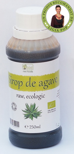 SIROP DE AGAVE DARK RAW BIO 250ML