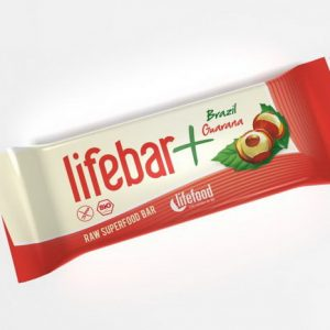 LIFEBAR PLUS BATON CU NUCI BRAZILIENE SI GUARANA RAW BIO 47G