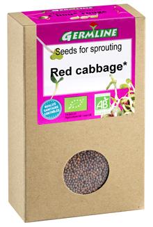 Seminte de varza rosie pt. germinat bio 150g