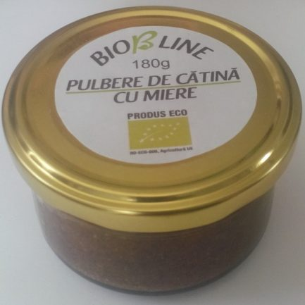 CATINA PULBERE CU MIERE BIO 180G