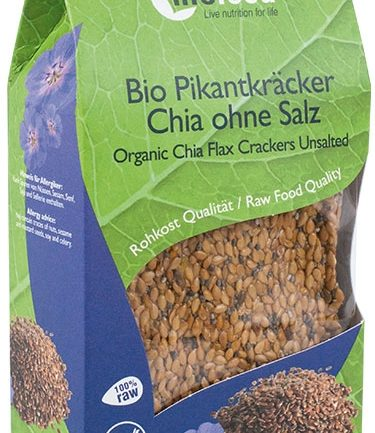 CRACKERS CU CHIA RAW BIO 90G