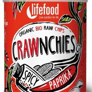 CHIPS CRAWNCHIES CU BOIA SPICY RAW BIO 30G
