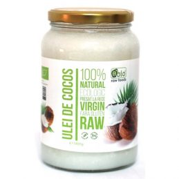 Ulei de Cocos Virgin Raw Bio 1400g