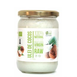 Ulei de Cocos Virgin Raw Bio 450g