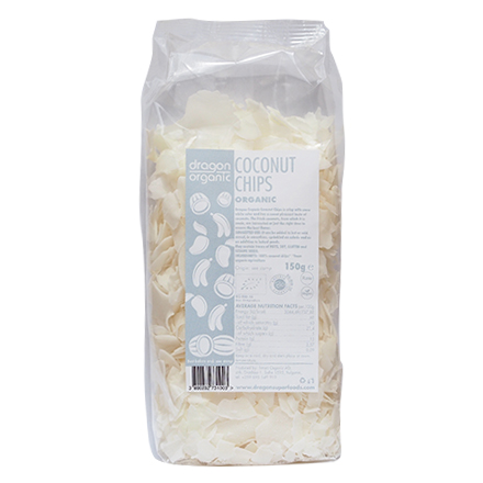 Dragon Superfoods - Fulgi raw de cocos bio 150g