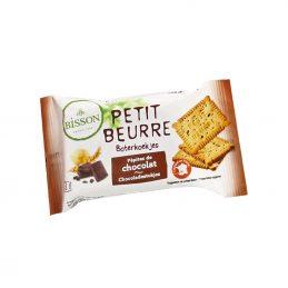 Biscuiti Petit Beurre cu pepite de ciocolata pachet 28g