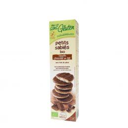 Biscuiti fara gluten inveliti cu ciocolata cu lapte 150g