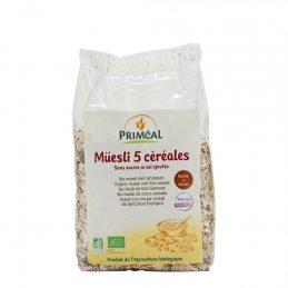 Primeal - Musli cu 5 cereale 500g [002]