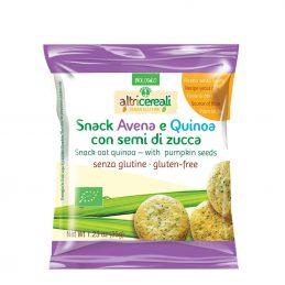Snack din ovaz si quinoa cu seminte de dovleac 35g