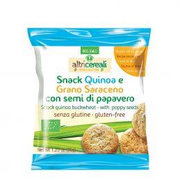 Snack din quinoa si hrisca cu seminte de mac 35g