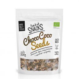 Diet-food - Snacks seminte-cocos cu cacao 200g [002]