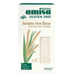 Faina de Orez Brun Fara Gluten Bio 500g